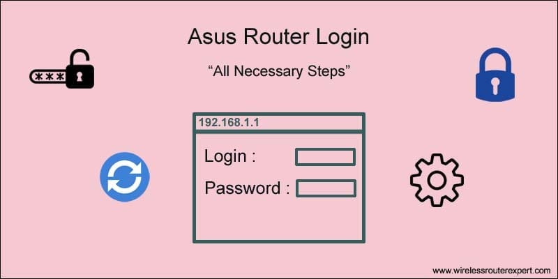 How to Login Asus Wireless Router | Asus Router dashboard
