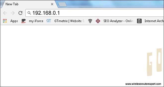 type default dlink ip