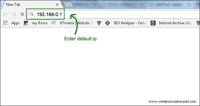 default ip in dlink