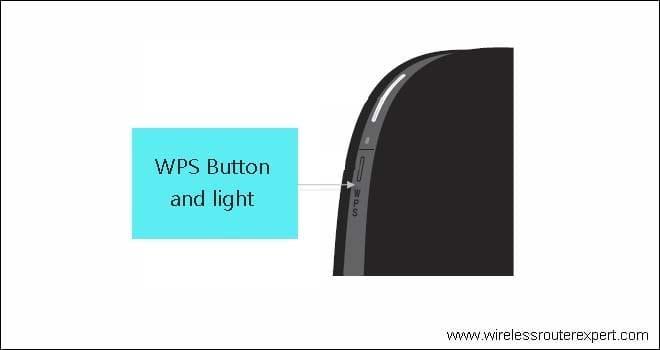 Belkin Extender wps light