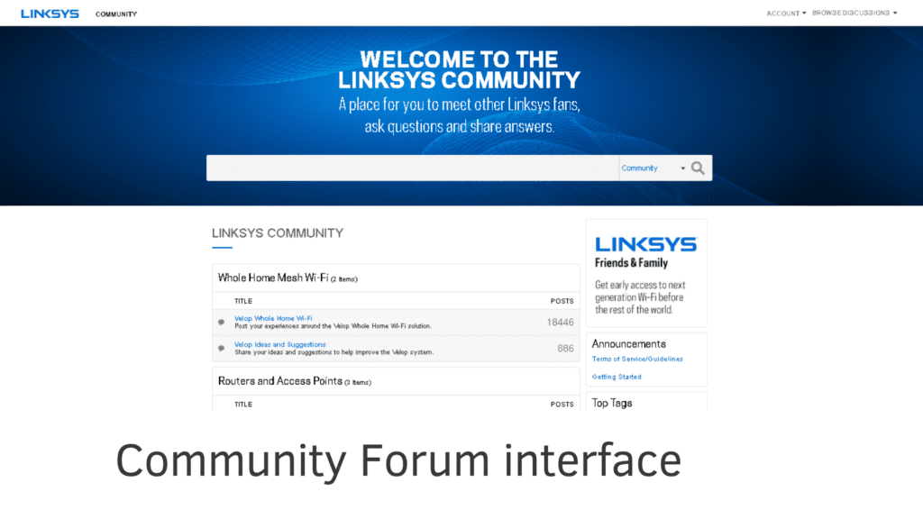 linksys community